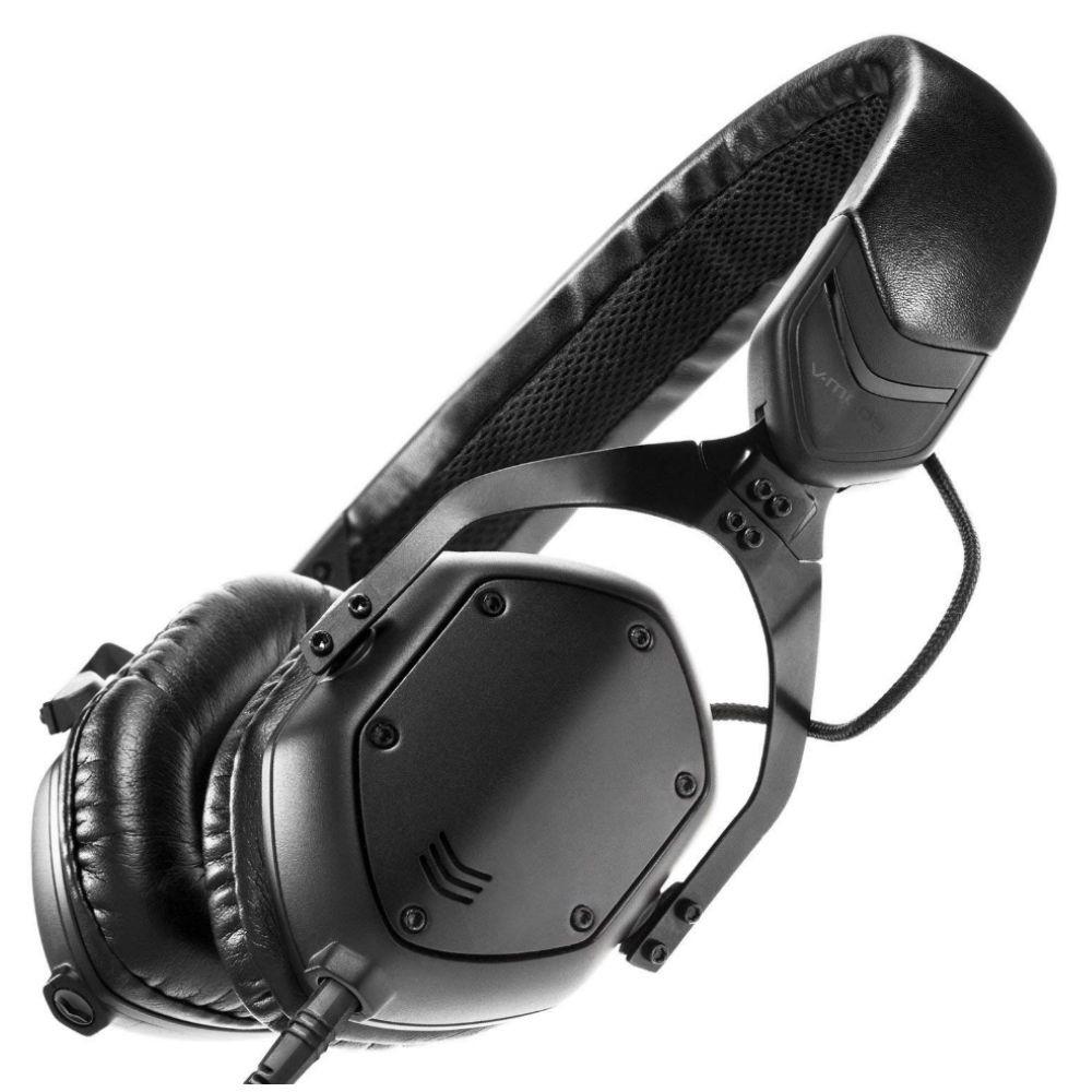 V-MODA XS 3D Custom On-Ear Headphones (Matte Black Metal)