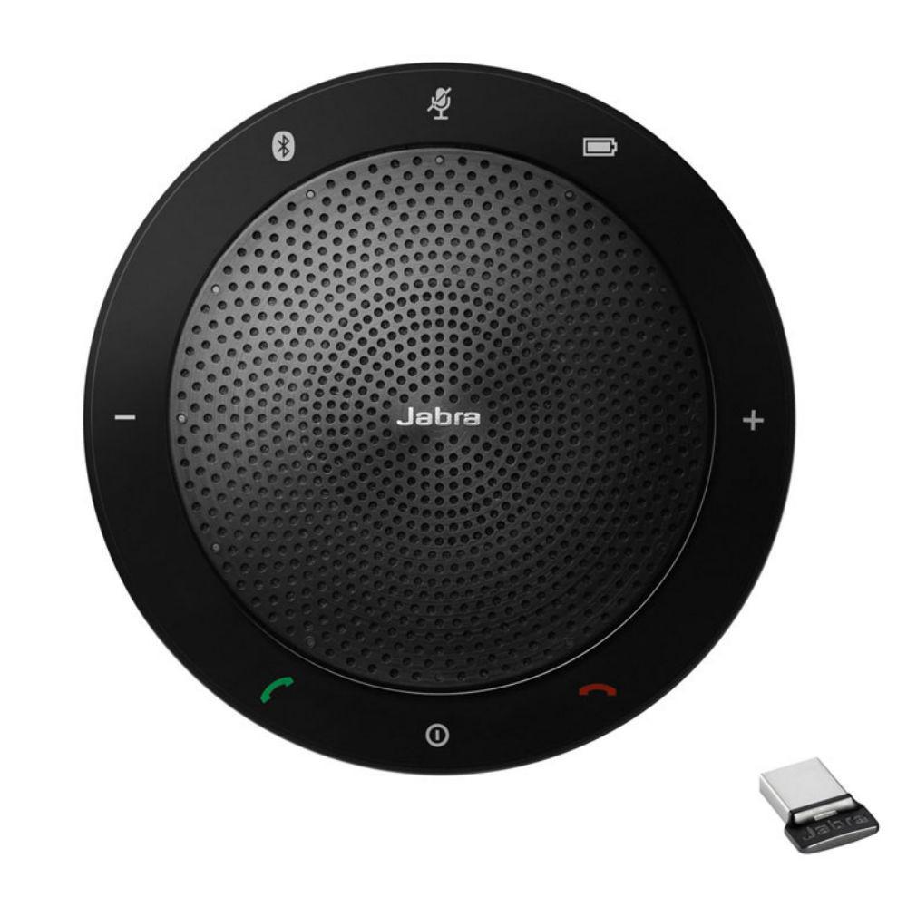 Jabra Speak 510+ UC Wireless Conference Speakerphone With Link 370 USB Adapter