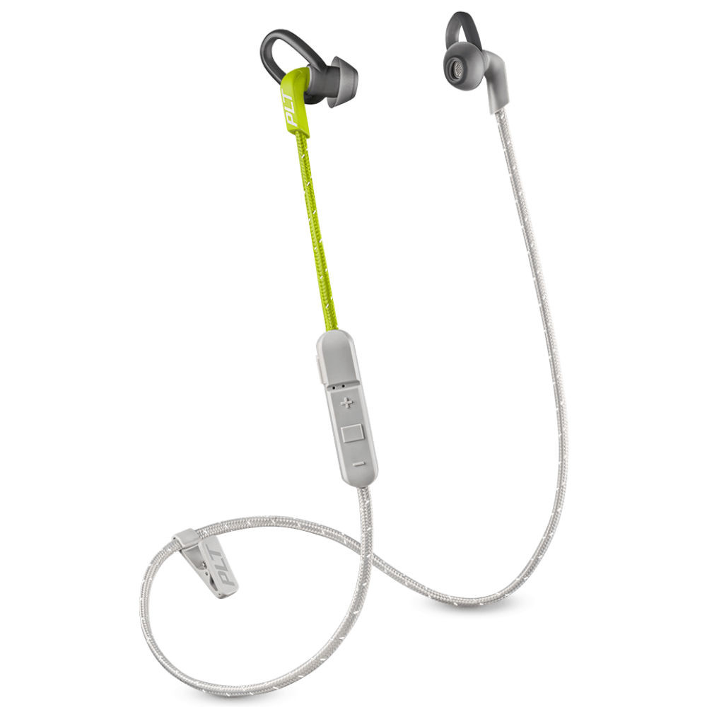 Plantronics BackBeat Fit 305 Wireless With Sport Pouch (Grey Lime)