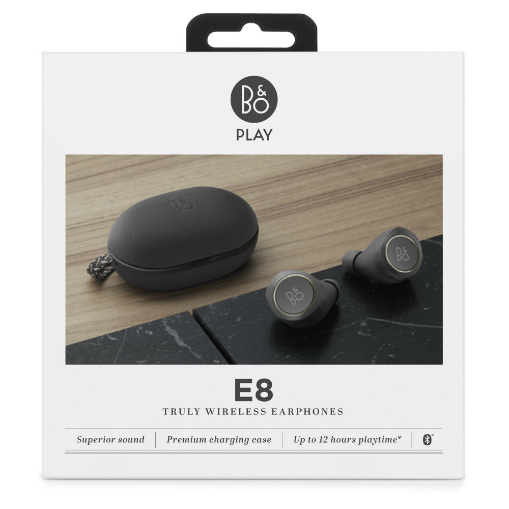 Bang & Olufsen BeoPlay E8 Premium True Wireless Earbuds (Charcoal Sand)