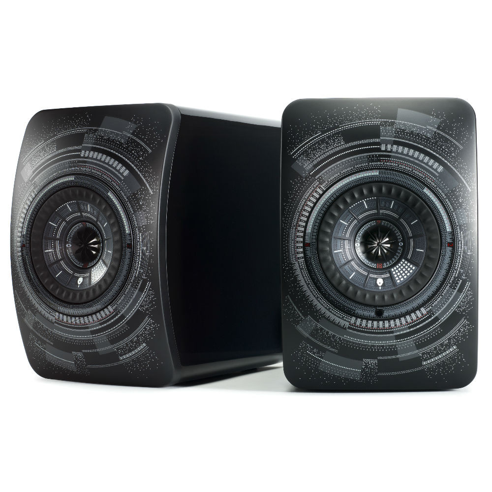 KEF LS50W High-Res Wireless Speaker Limited Edition (Nocturne)