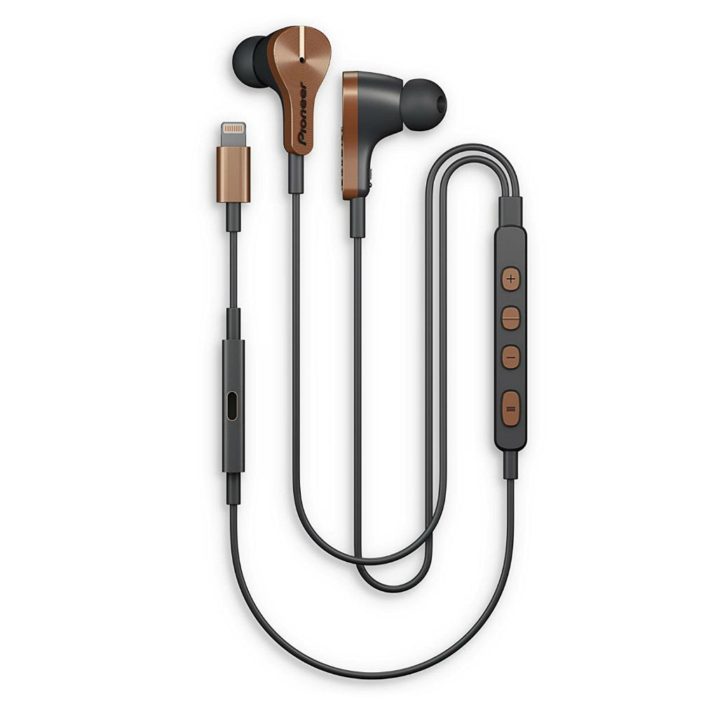 Pioneer Rayz Plus Noise Cancelling Earphones (Bronze)