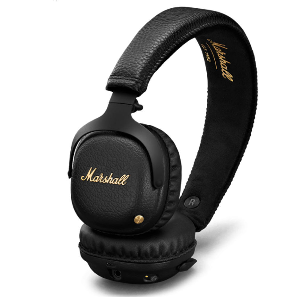 Marshall Mid A.N.C. Wireless Noise Cancelling Headphones (Black)