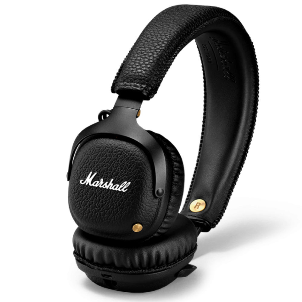 Marshall Mid Bluetooth On-Ear Headphones (Black)