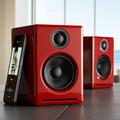 Audioengine A2+ Wireless Speaker System (Hi-Gloss Red)