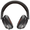 Poly Plantronics Voyager 8200 UC Noise Cancelling Wireless Headset With USB-A Wireless Adapter (Black)