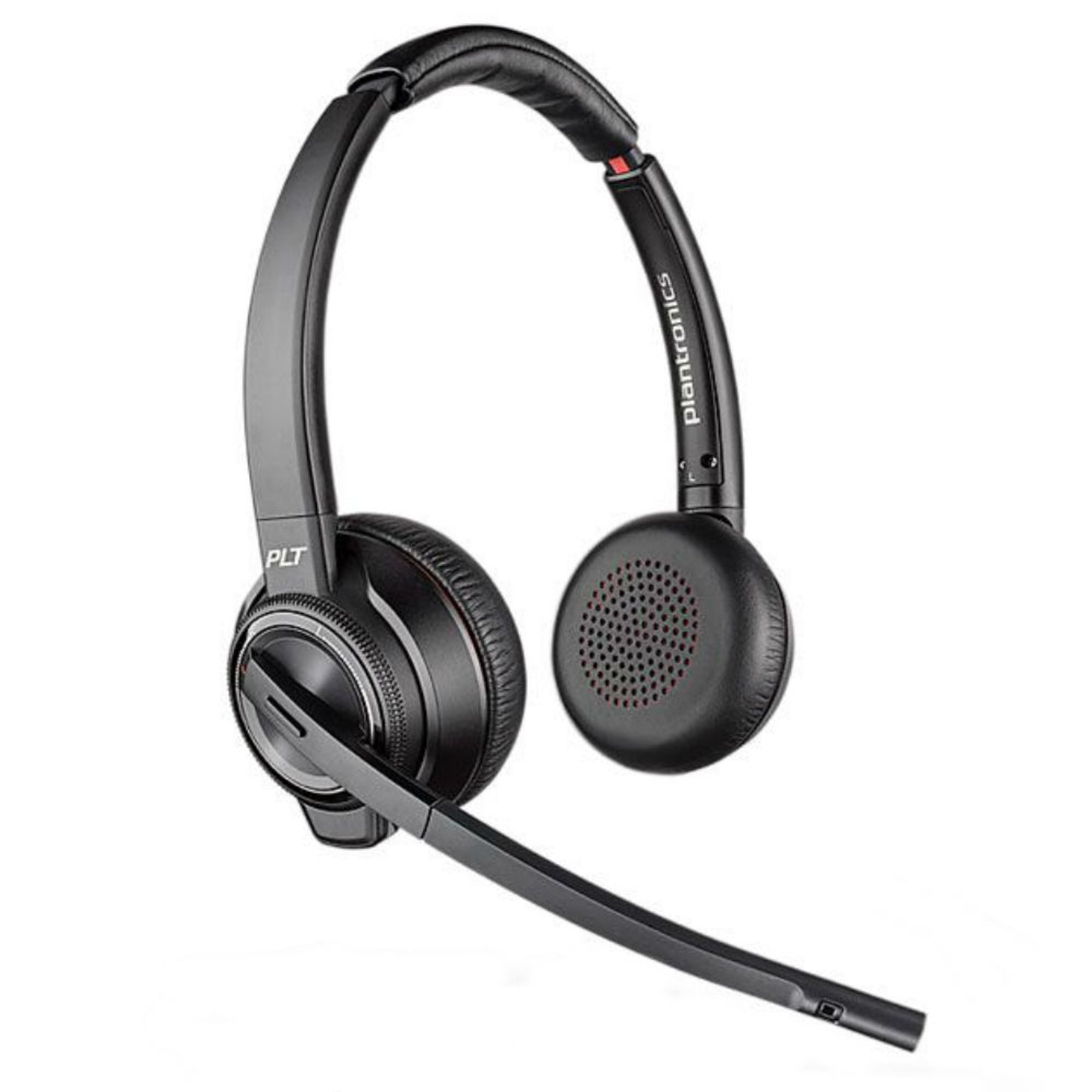 2b783a9a369 ... Plantronics Savi 8220-M Active Noise Cancelling Wireless DECT Stereo Headset  System ...