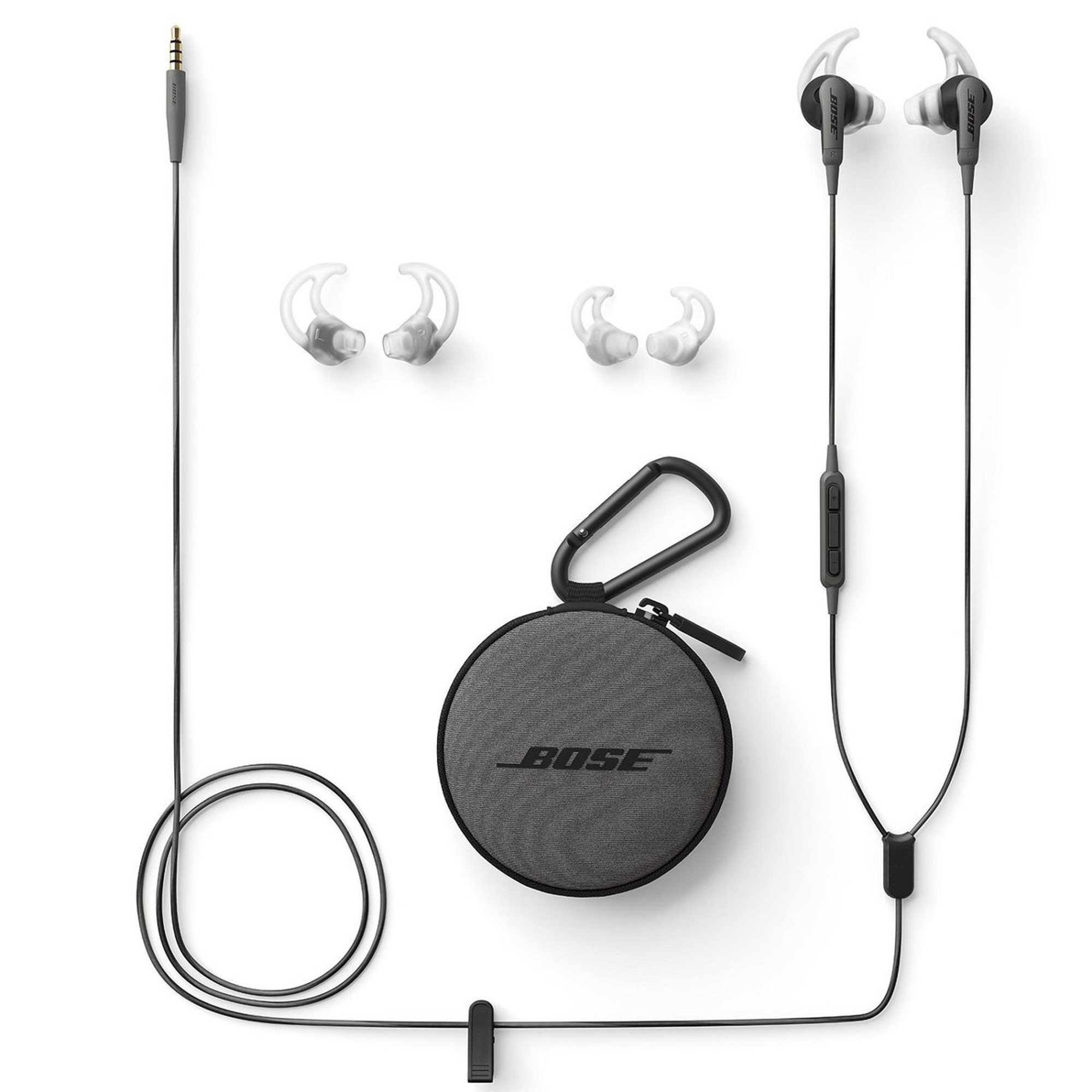 9fdcb309f90 Bose SoundSport In Ear Headphones For Android Devices (Charcoal)