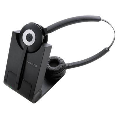 Jabra Pro 930 MS Duo Wireless Headset (Black)