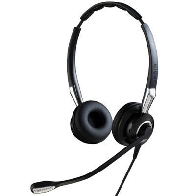 Jabra Biz 2400 II UC Duo Corded Headset, USB, BT