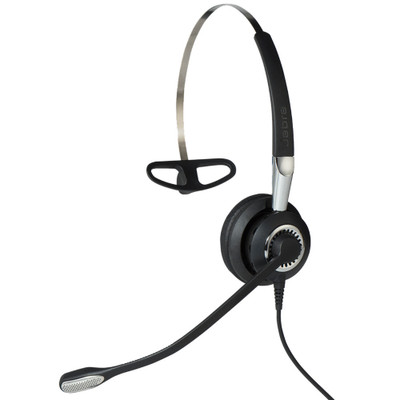 Jabra Biz 2400 II UC USB Mono BT 3-In-1 Wearing Style Office Headset