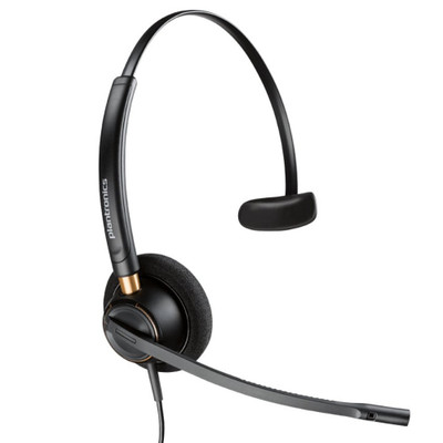 Plantronics EncorePro 510 Digital, Mono, Noise Cancelling Headset, HW510D
