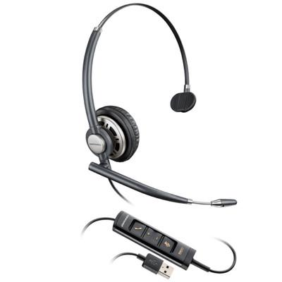 Plantronics EncorePro 715 USB, Mono, Noise Cancelling Headset, HW715 USB