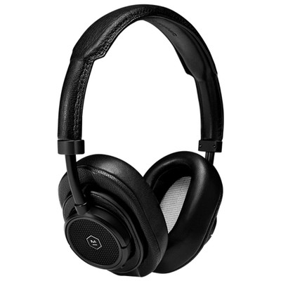 Master & Dynamic MW50+ 2-In-1 Wireless On-Ear & Over-Ear Headphones (Black Metal / Black Leather)
