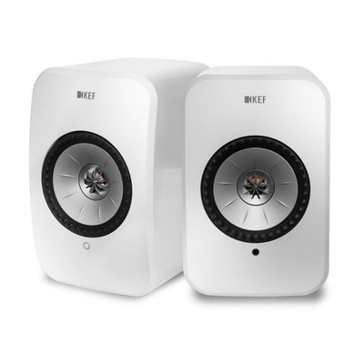 KEF LSX Wireless Music System (White)