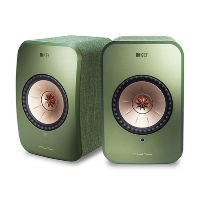 KEF LSX Wireless Music System (Green)