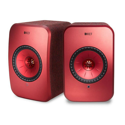 KEF LSX Wireless Music System (Red)