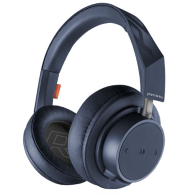Plantronics BackBeat Go 605 Over-Ear Wireless Headphones (Navy)