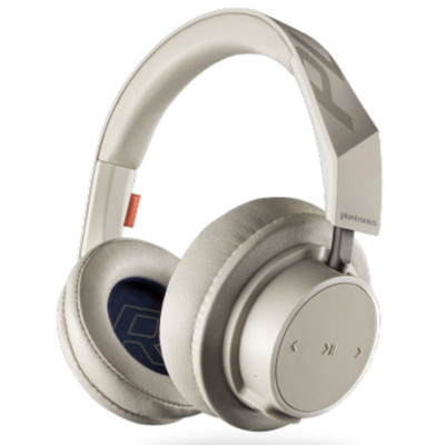 Plantronics BackBeat Go 605 Over-Ear Wireless Headphones (Khaki)