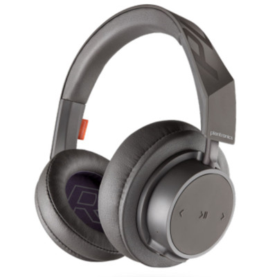 Plantronics BackBeat Go 605 Over-Ear Wireless Headphones (Grey)