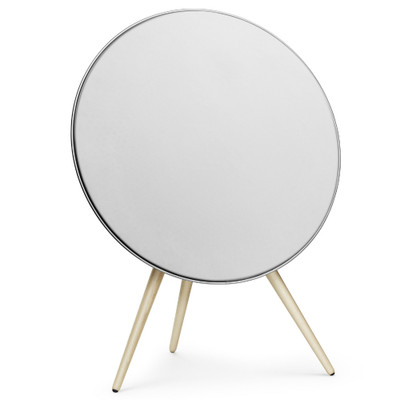 Bang & Olufsen Beoplay A9 2nd Generation Wireless Speaker System (White Cover / Maple Legs)