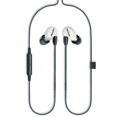 Shure SE215 Single Microdriver Earphones Special Edition With Universal Cable (White)