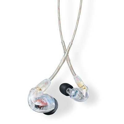 Shure SE425 Dual Microdrivers Sound Isolating Earphones (Clear)