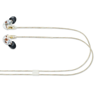 Shure SE535 Triple Microdrivers Sound Isolating Earphones With Standard Cable (Clear)