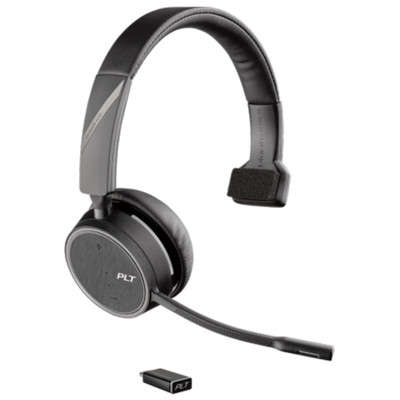 Poly Voyager 4210 UC Mono Bluetooth Office Headset USB-C (Black)