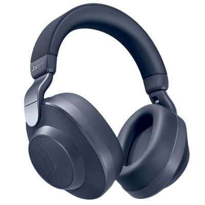 Jabra Elite 85h Wireless Noise Cancelling Headphones (Navy Blue)