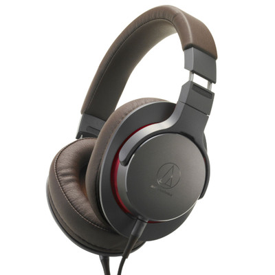 Audio-Technica ATH-MSR7B Over-Ear High-Resolution Headphones (Gunmetal)