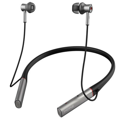1MORE Dual Driver Bluetooth Active Noise Cancellation In-Ear Headphones E1004BA (Silver)