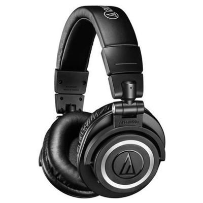 Audio-Technica ATH-M50xBT Studio Sound Wireless Over-Ear Headphones (Black)