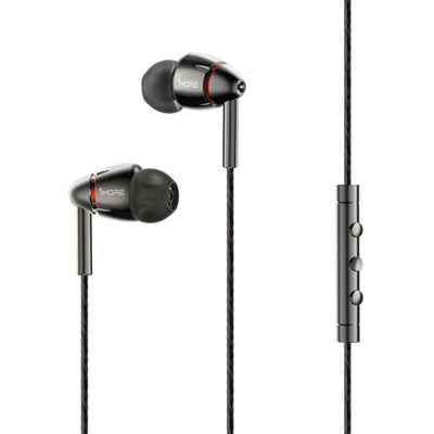 1MORE Quad Driver In-Ear Headphones E1010 (Gray)
