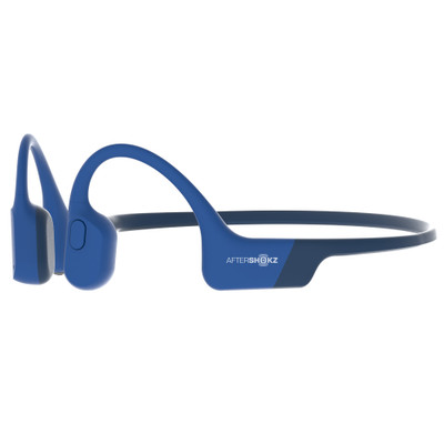 Aftershokz Aeropex Wireless Bone Conducting Headphones (Blue Eclipse)