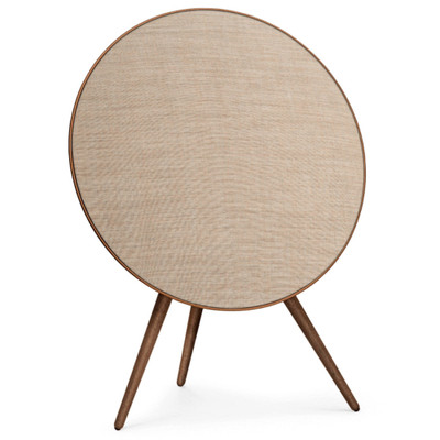 Bang & Olufsen Beoplay A9 4th Generation Wireless Speaker System With Voice Assistant (Bronze Tone / Walnut Legs)
