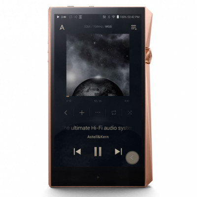 Astell & Kern A&Ultima SP2000 High-Resolution Digital Audio Player (Gold)