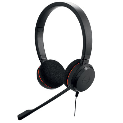 Jabra Evolve 20 UC Stereo USB Office Headset (Black)