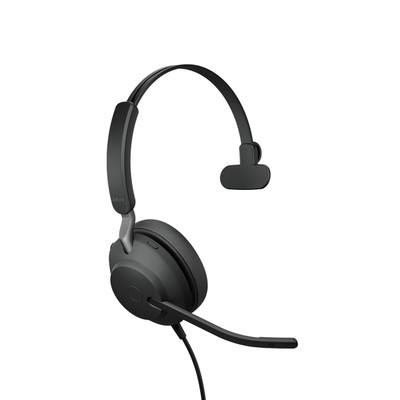 Jabra Evolve2 40 MS Mono Headset USB-A (Black)