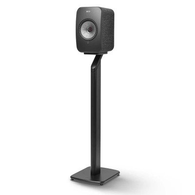 KEF S1 Floor Stand Speaker Stand For LSX, Pair (Black)