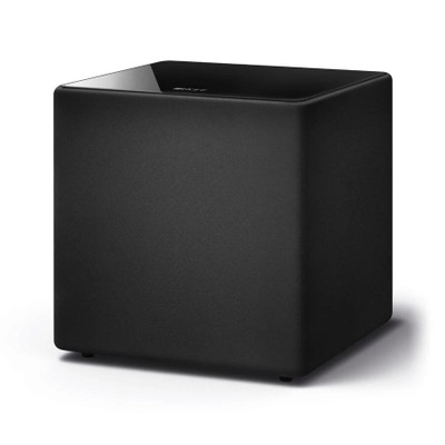 KEF Kube 12b 12 Inches Bass Driver Active Subwoofer For LSX and LS50 Wireless (Black)