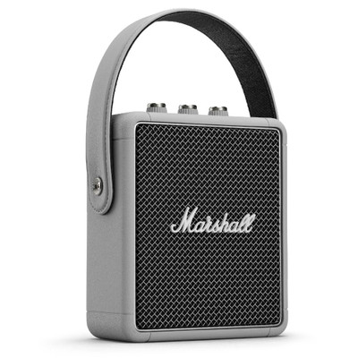 Marshall Stockwell II Portable Bluetooth Speaker (Grey)