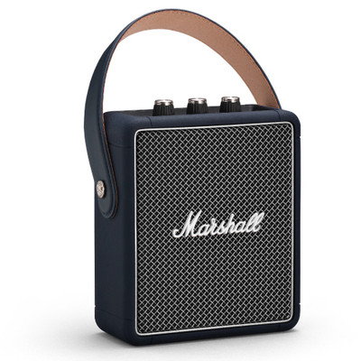 Marshall Stockwell II Portable Bluetooth Speaker (Indigo)