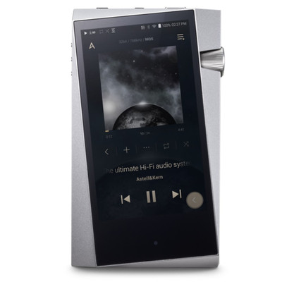 Astell & Kern A&Norma SR25 High-Resolution Digital Audio Player (Moon Silver)