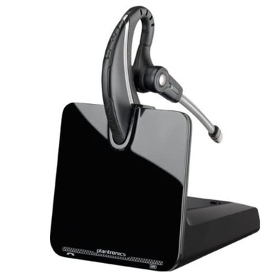 Plantronics CS530 Over-The-Ear DECT Wireless Headset System (Black)