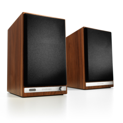 Audioengine HD6 Wireless Speaker System (Walnut)