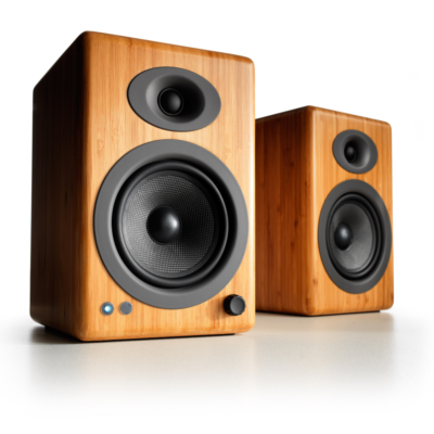 Audioengine A5+ Wireless Speaker System (Bamboo)