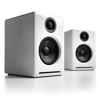 Audioengine A2+ Wireless Speaker System (Hi-Gloss White)