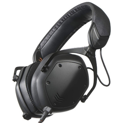 V-MODA Crossfade M-100 Master Hi-Res Over-Ear Audiophile Headphones (Matte Black Metal)