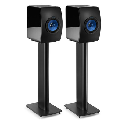 KEF S2 Speaker Stand For LS50, LS50 Wireless, LS50 Wireless II, Pair (Black)